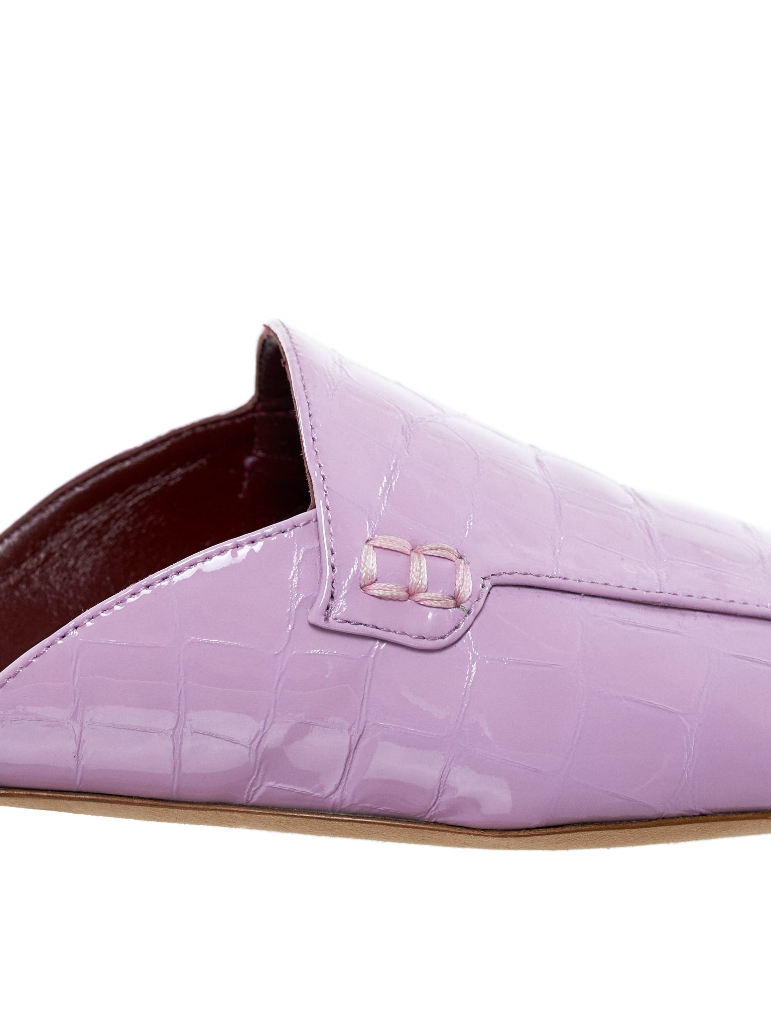 Patent Leather Mule (10SCP219-SOFT-PINK)