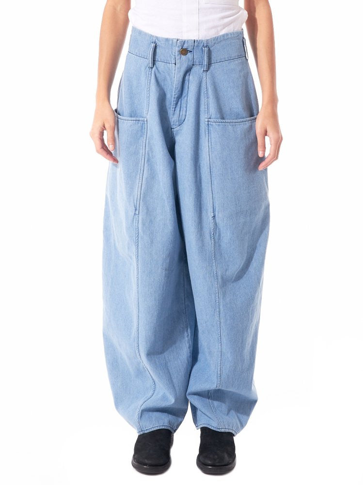Oversized Trouser (BELL PANT MEDIUM LIGHT) - H. Lorenzo