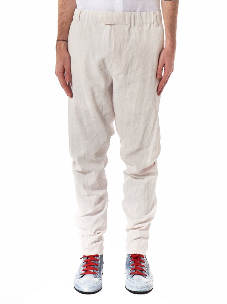 Stretch Waist Trouser (1707-3402-166-002) - H. Lorenzo