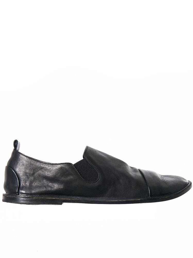 Leather Slip-On (MM1450 NERO)