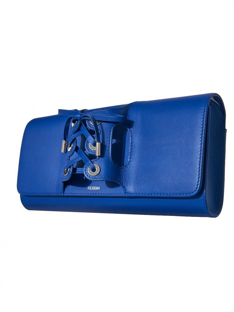 Lace-Knuckle Clutch (COR51CAL ROYAL BLUE) - H. Lorenzo