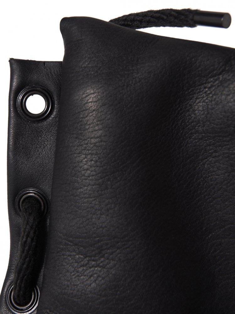 Leather Square Bag (BONDAGE BAG SQUARE BLACK) - H. Lorenzo