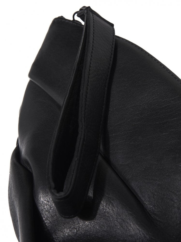 Twisted Leather Back (TWISTED SUS BAG BLACK) - H. Lorenzo