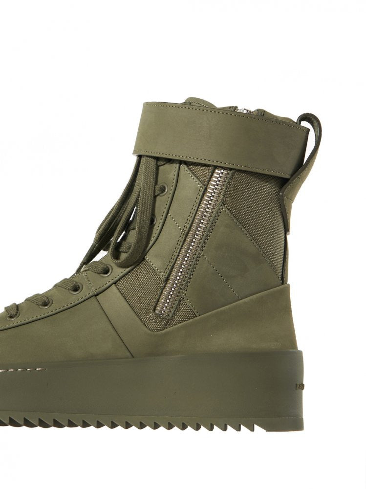 Military Sneaker (FGTP-MSNU-AG16 ARMY GREEN) - H. Lorenzo