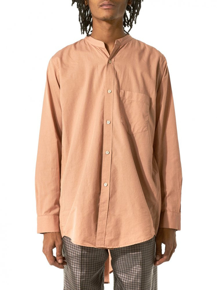 Vented Hem Button (17SS-STD-CL04 PINK) - H. Lorenzo