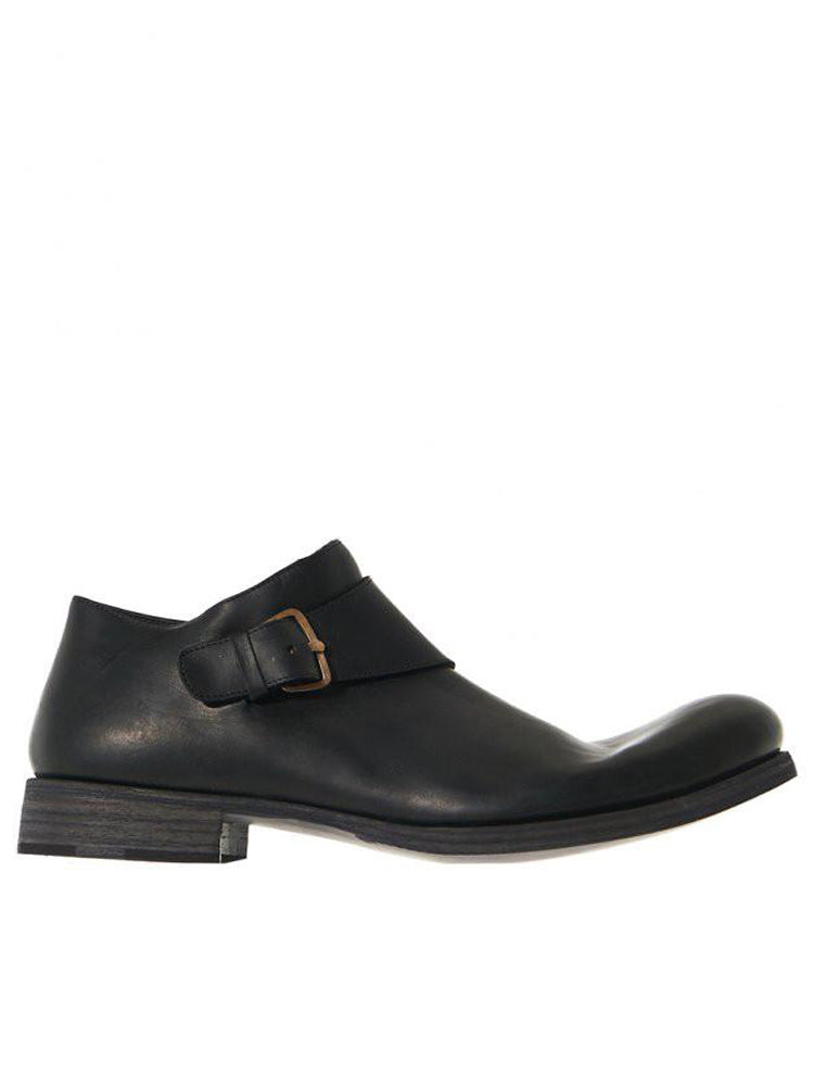 Buckled Leather Shoes (S1E1 VAO 1.5 BLACK)