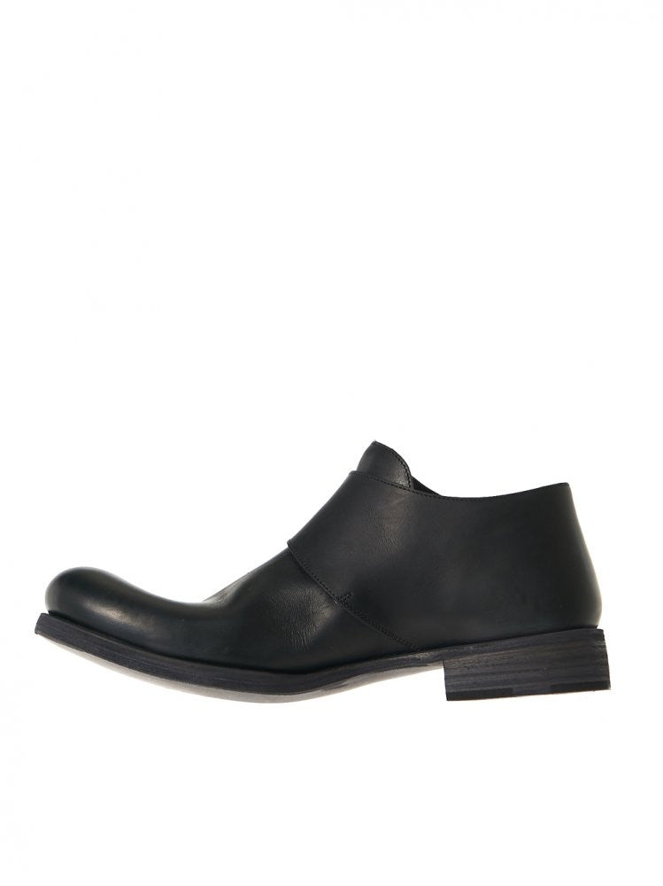Buckled Leather Shoes (S1E1 VAO 1.5 BLACK) - H. Lorenzo