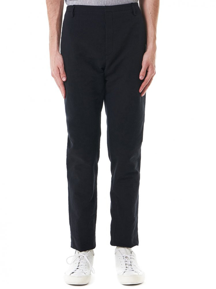 Front-Cut Trousers (29FMPN72 LC13A 29-DB) - H. Lorenzo