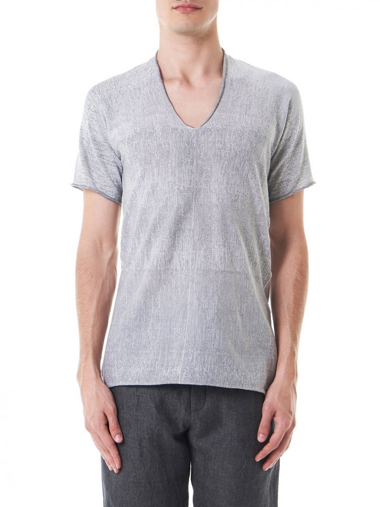 Pixel Arched Tee (29YMTS257 CO190 29-27) - H. Lorenzo