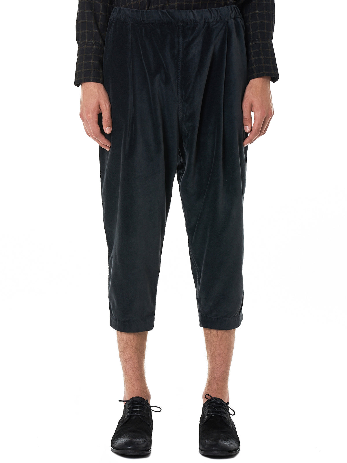 Casey-Casey Cropped Trouser - Hlorenzo Front