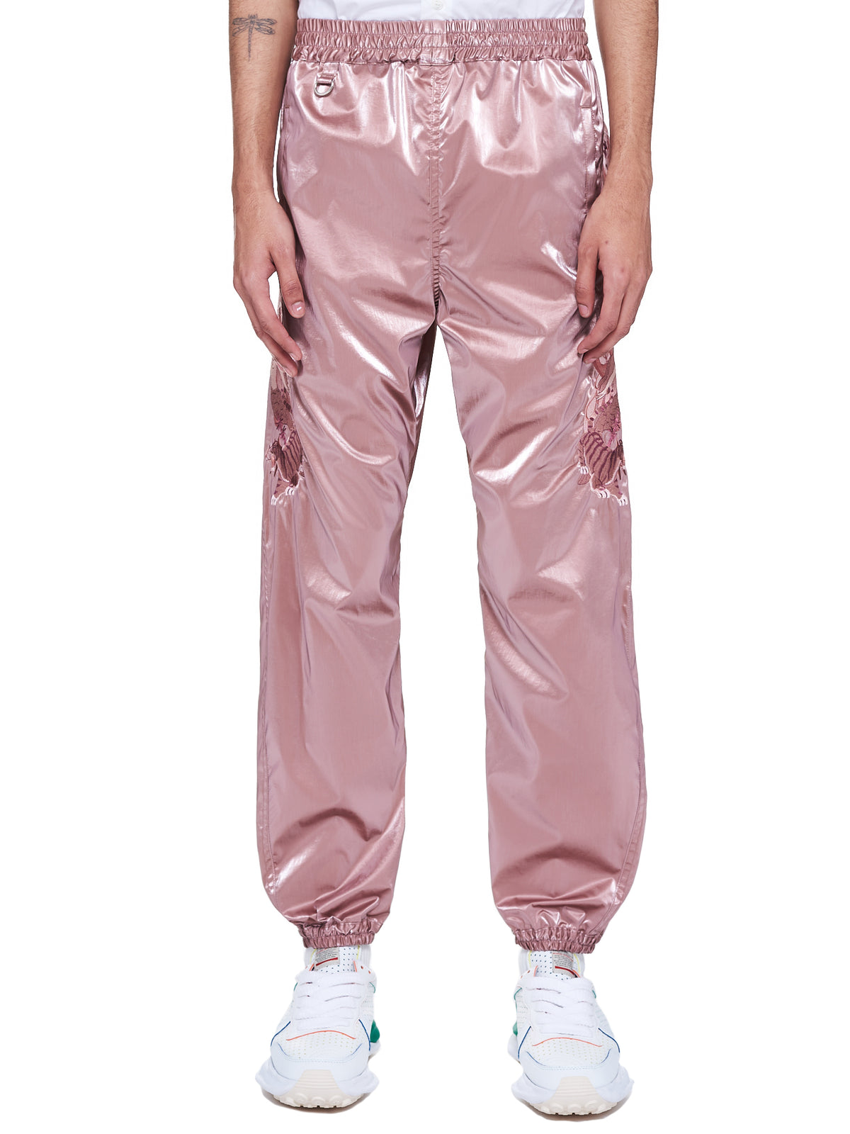 Gradation Chaos Embroidery Track Trousers (11PT150-PINK)