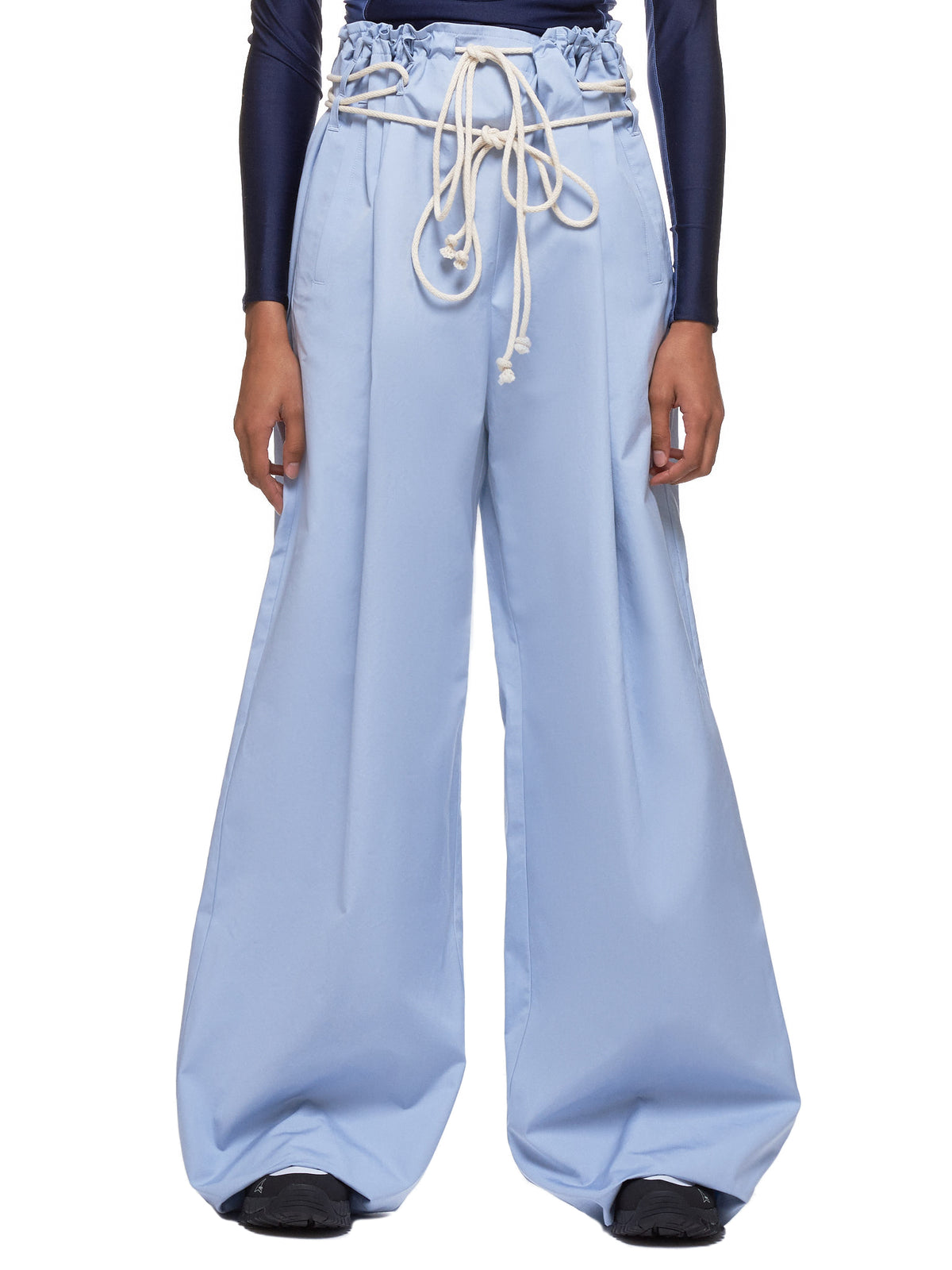 Drawstring Pants (12111616-LIGHT-BLUE)