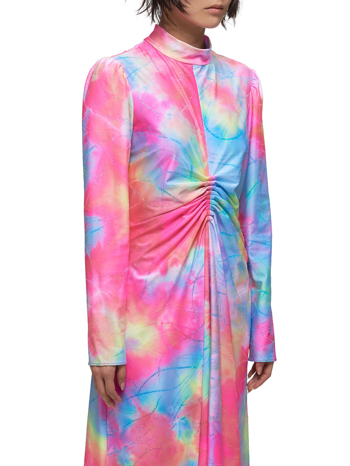 Nara Tie Dye Dress (12GN5175-MULTICOLOR)