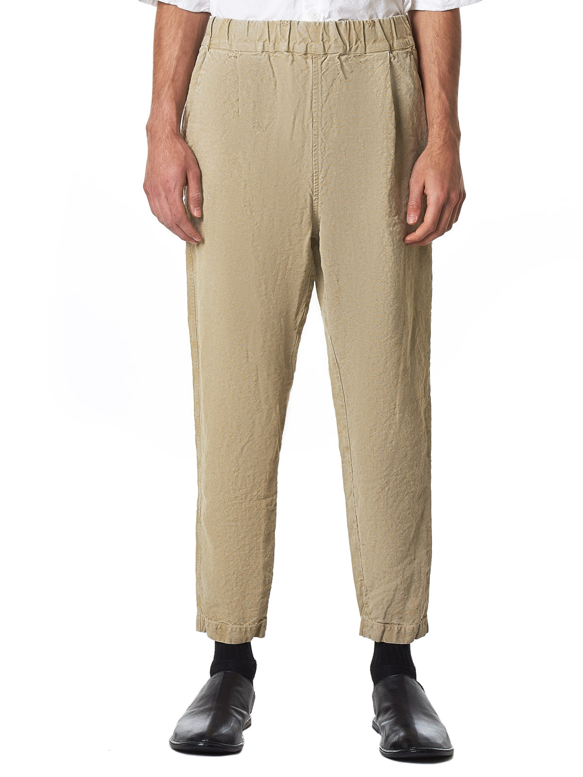 Casey Casey Brown Pants - Hlorenzo Front