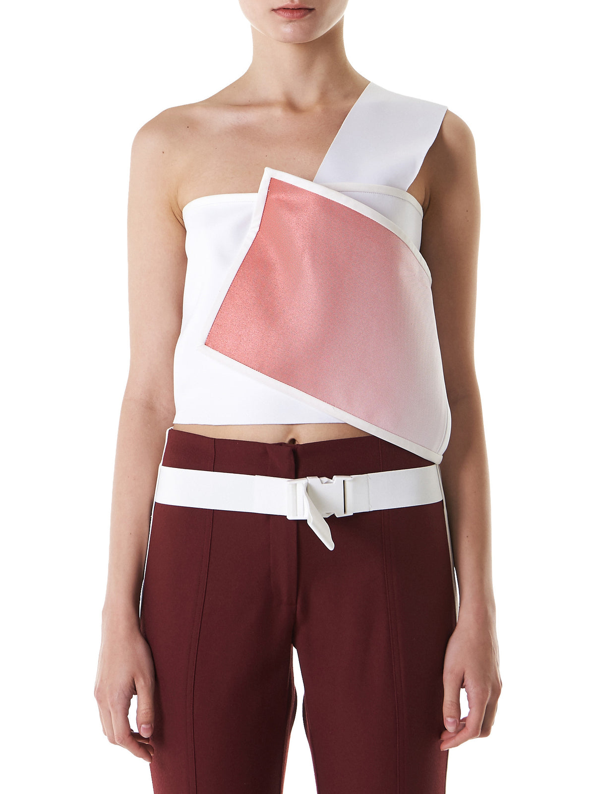 Wrapped Cropped Top (13-1-GRADIENT) - H. Lorenzo