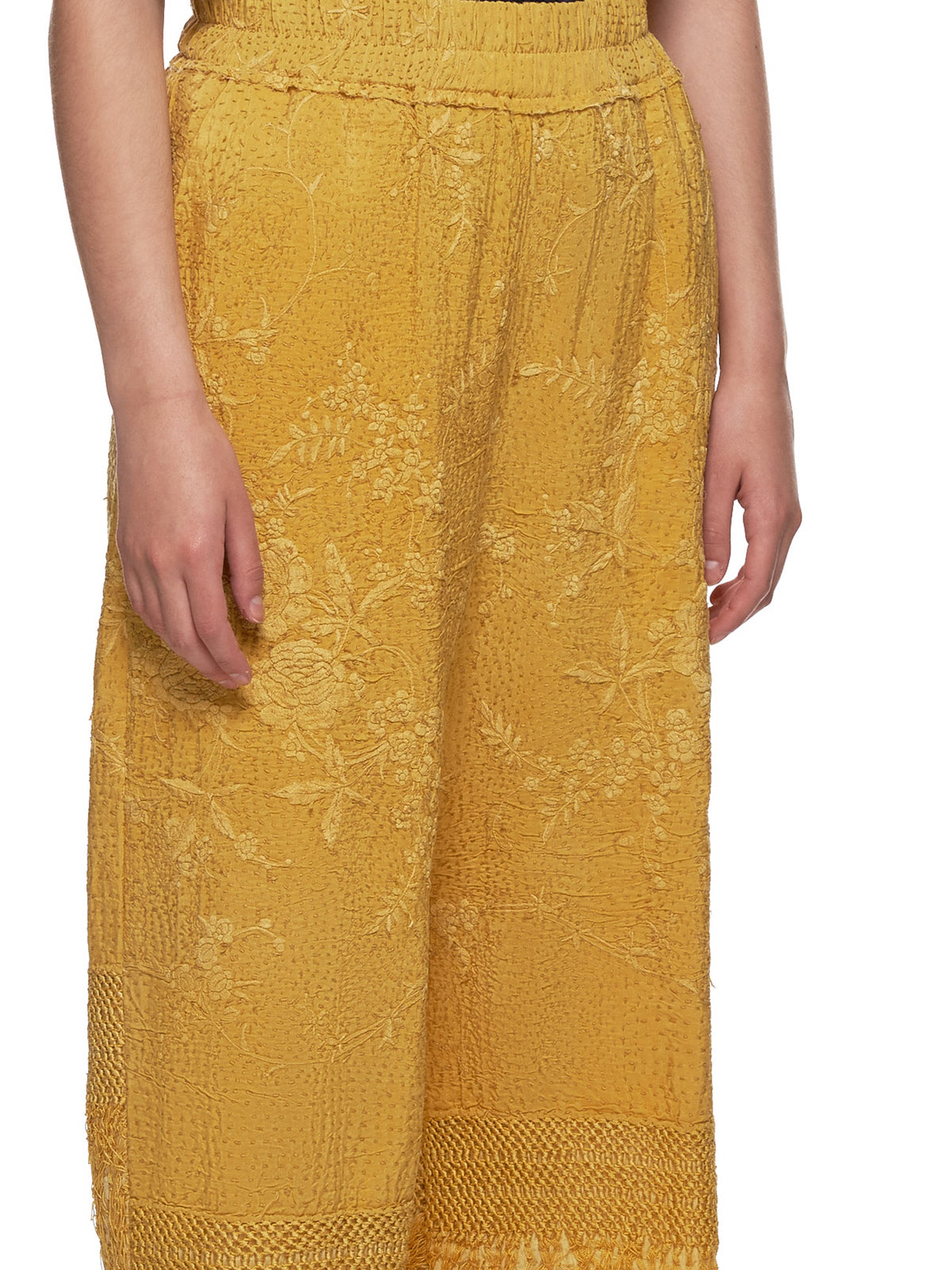 Piano Shawl Dania Trouser (130021W-DANIA-YELLOW)
