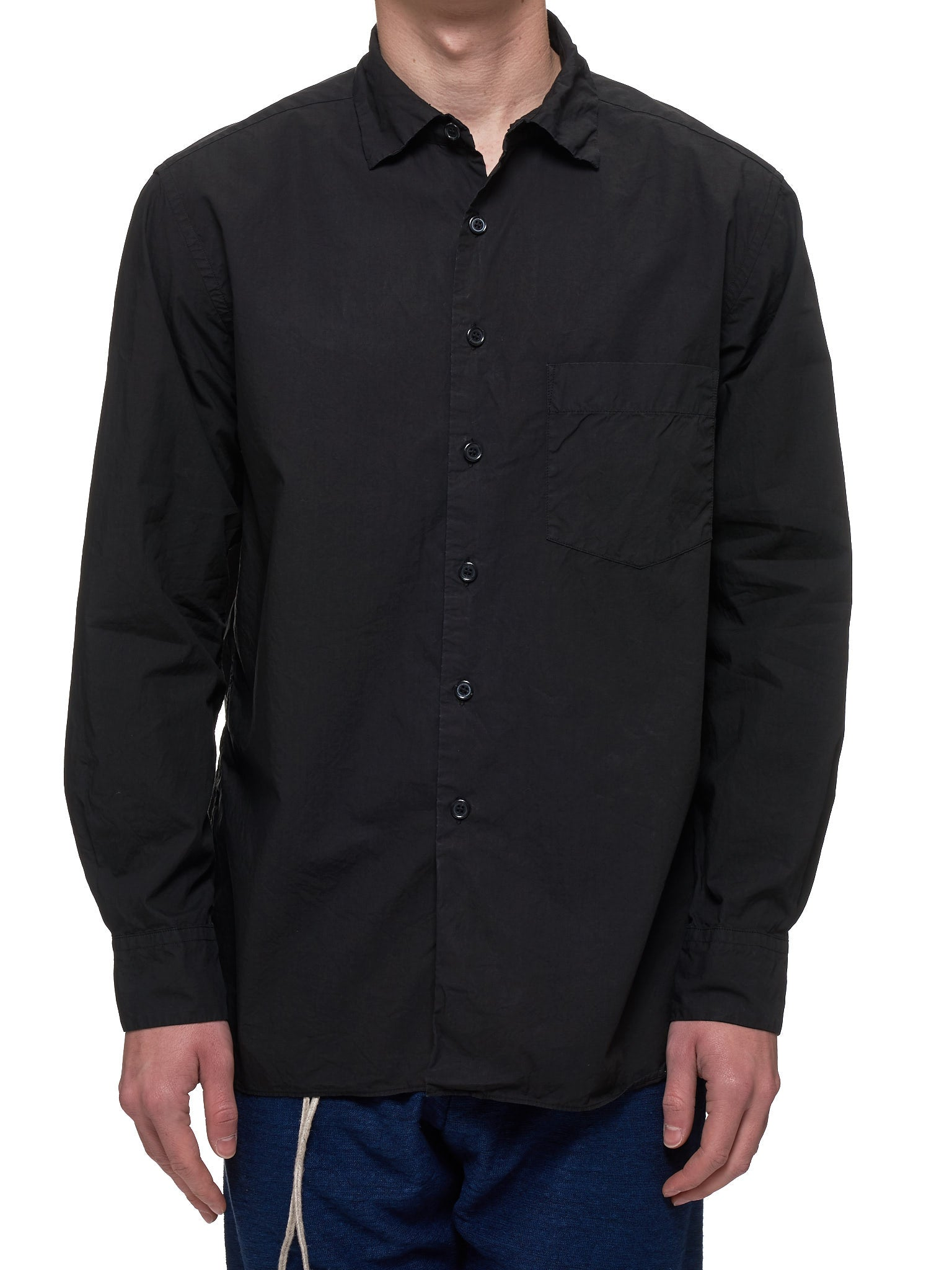 Button-Up Shirt (13HC144-BLACK)