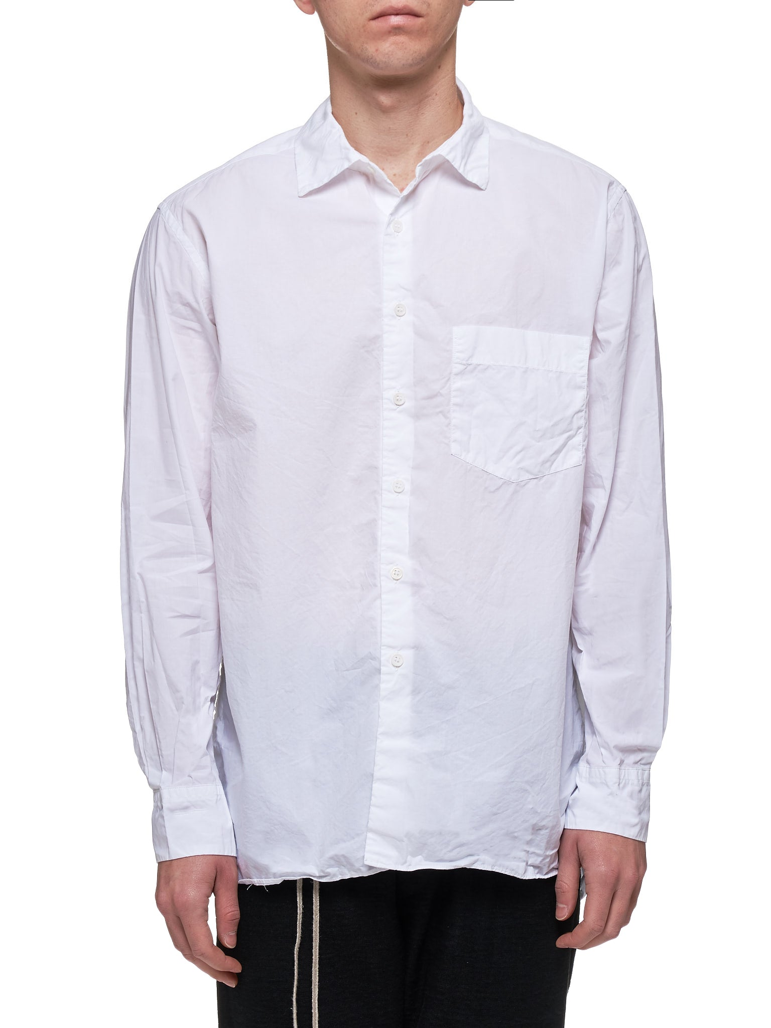 Button-Up Shirt (13HC144-WHITE)
