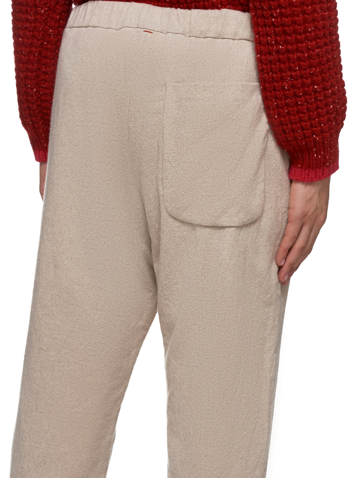 Cashmere Trousers (13HP166-BEIGE)