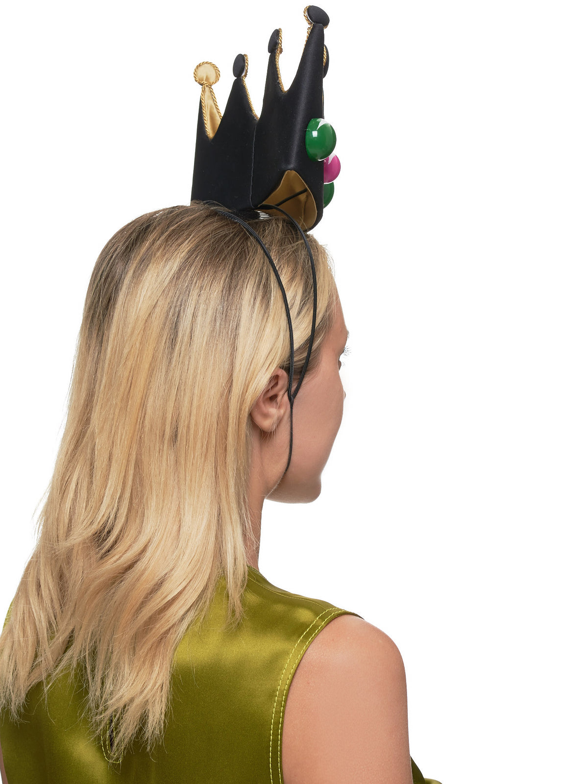 Crown Headband (14-SELFIE-BLACK)