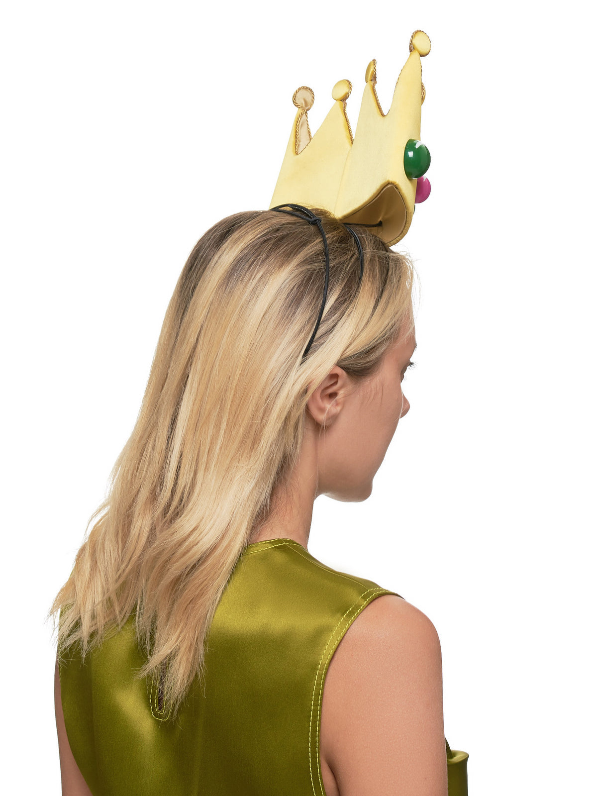 Crown Headband (14-SELFIE-YELLOW)