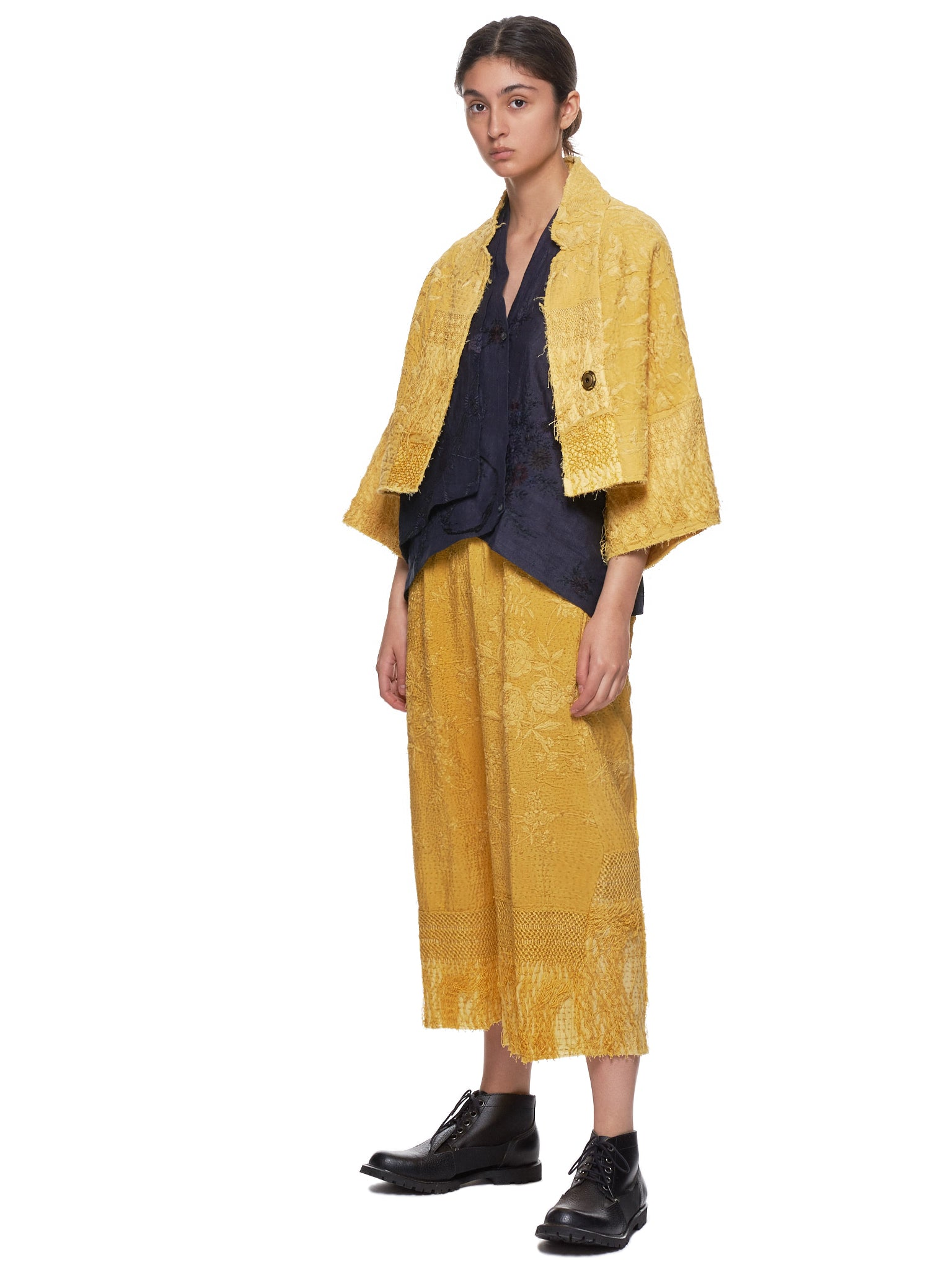 Piano Shawl Lamia Jacket (150023W-LAMIA-YELLOW)