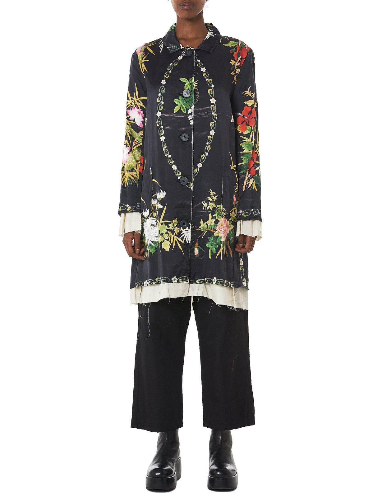 By Walid Floral Jacket - Hlorenzo Front