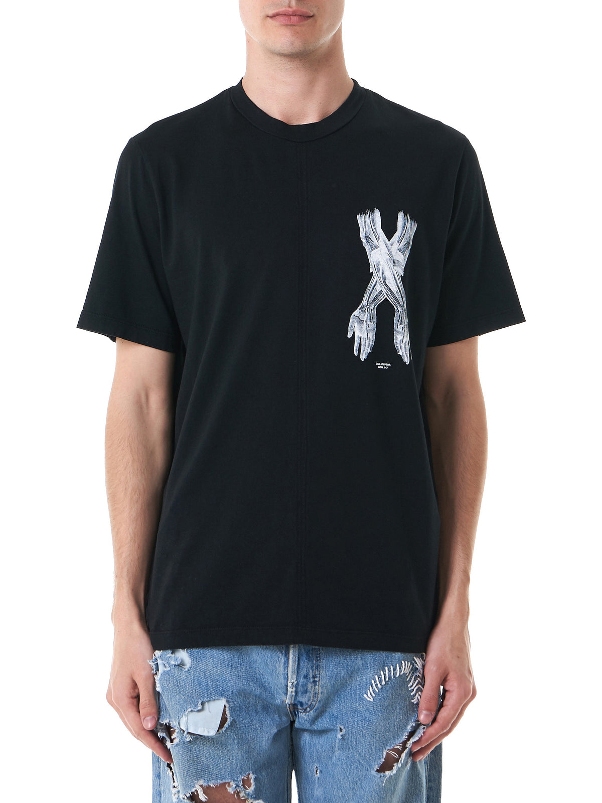 Box-Fit Graphic Tee (153-BK-BLACK) - H. Lorenzo