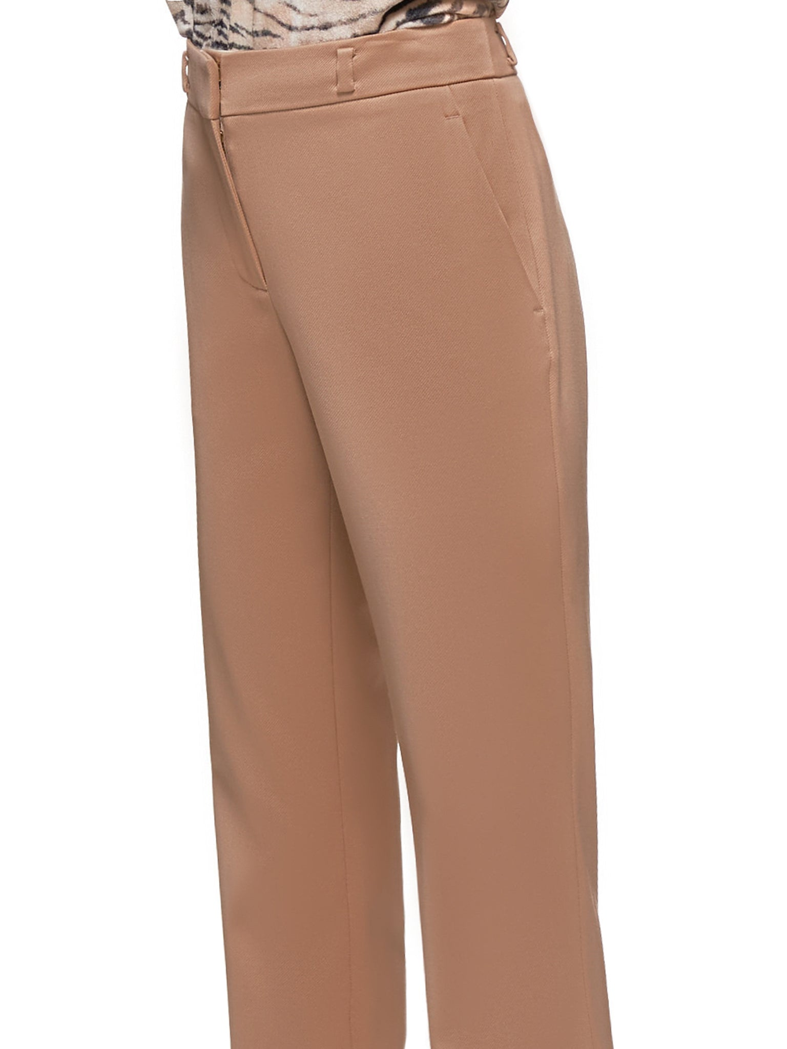 Nastya Slim Trousers (15PW6043-DUSTY-ROSE)