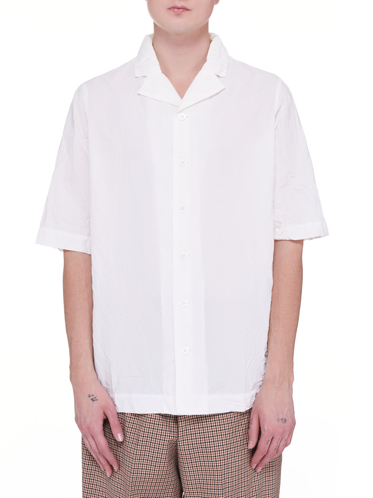 Verger Blis Bowlin Shirt (16HC199-WHITE)