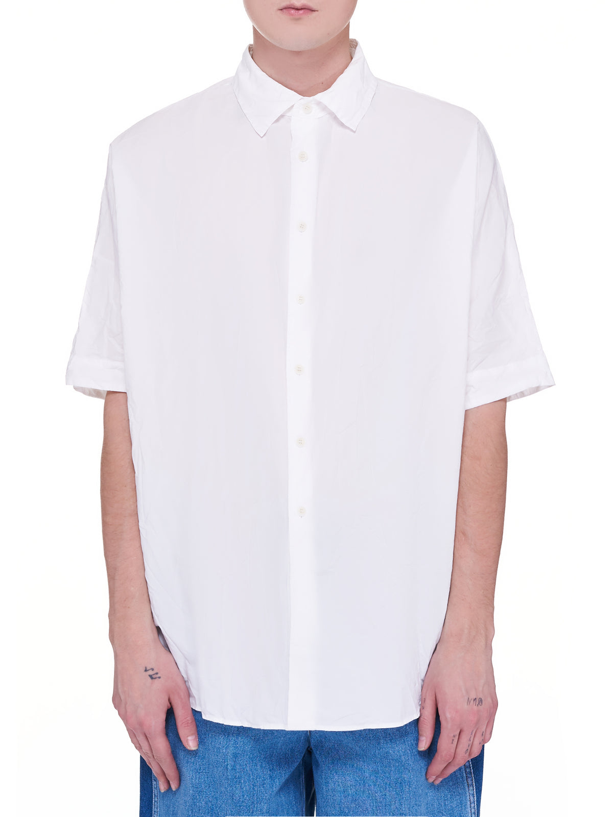 Waga Shirt (16HC209-WHITE)