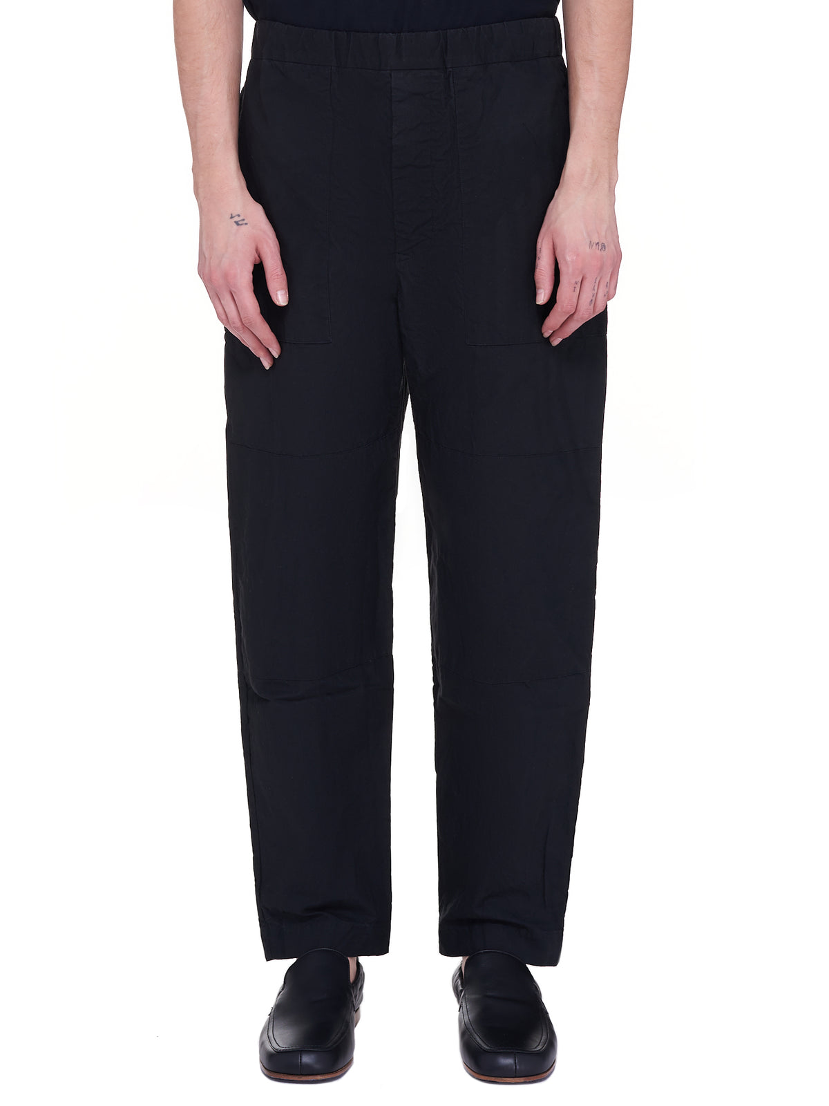 Jog Pantalon Trousers (16HP213-BLACK)
