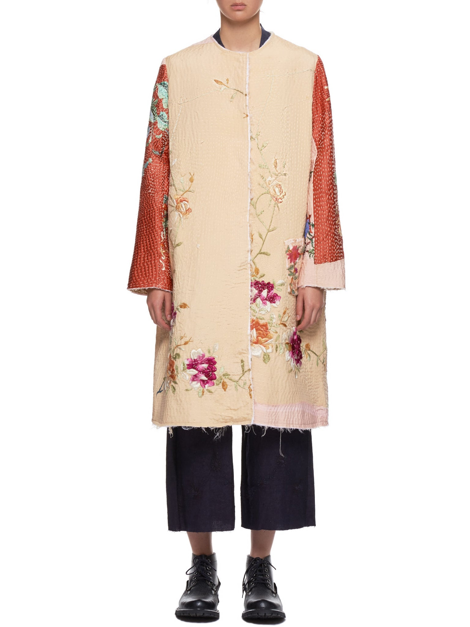 Floral Panel Tanita Coat (170011W-TANITA-LIGHT-MULTI)