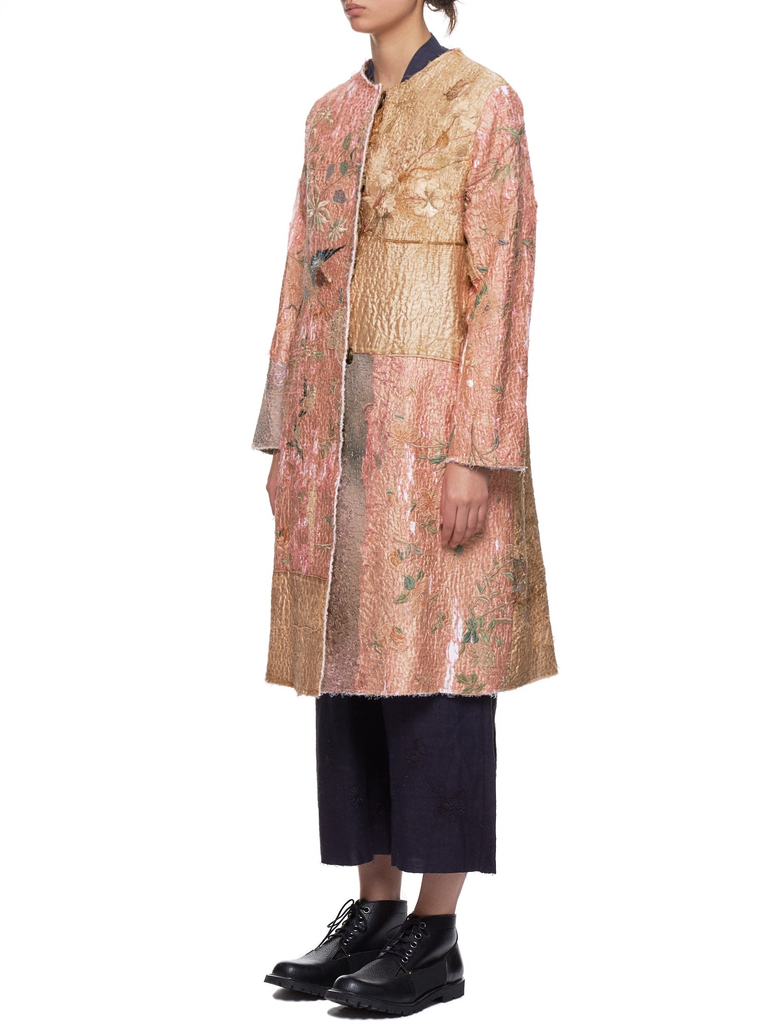 Chinese Panel Tanita Coat (170011W-TANITA-LIGHT-PINK)