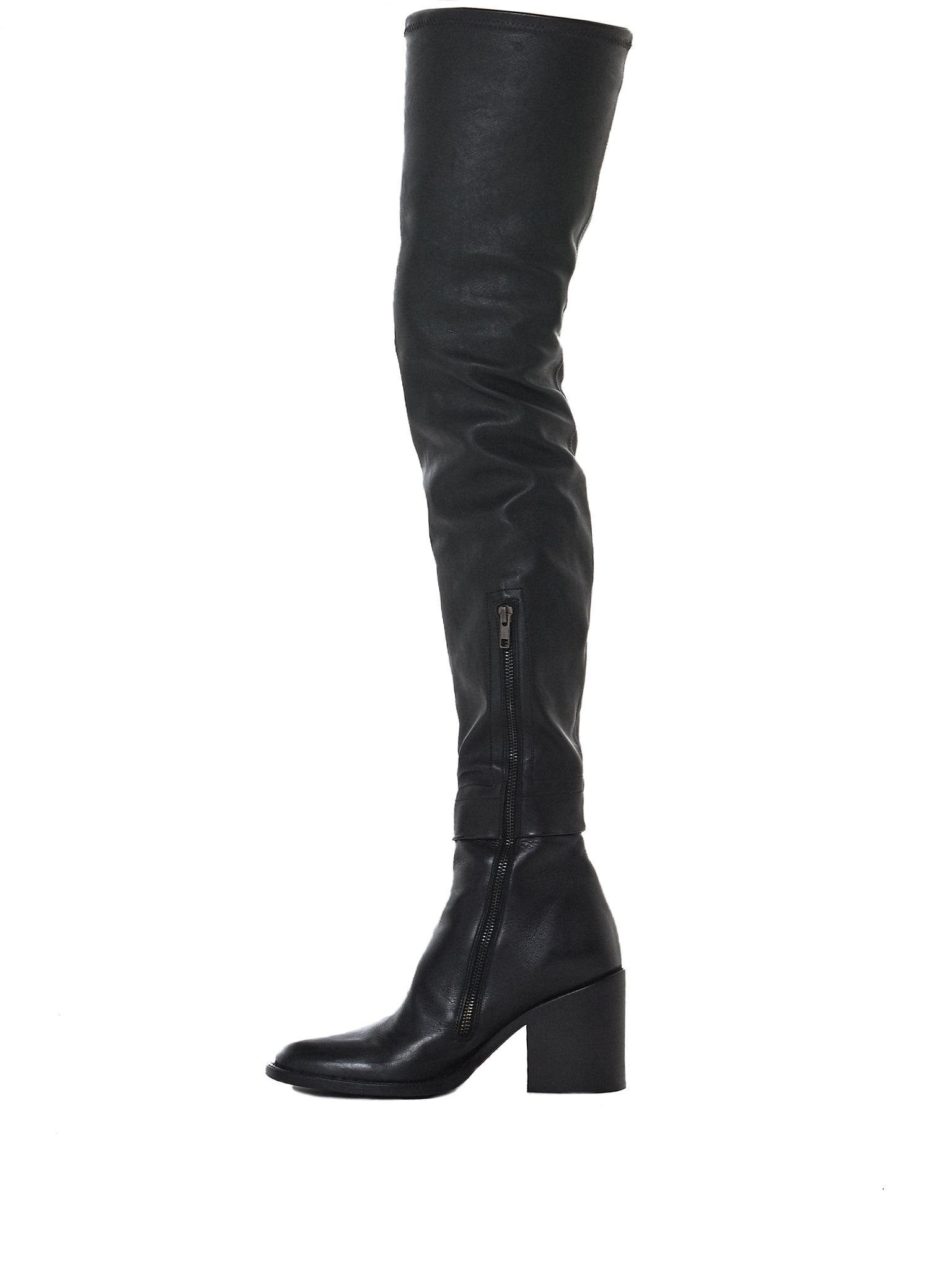Ann Demeulemeester-HLorenzo side boot view