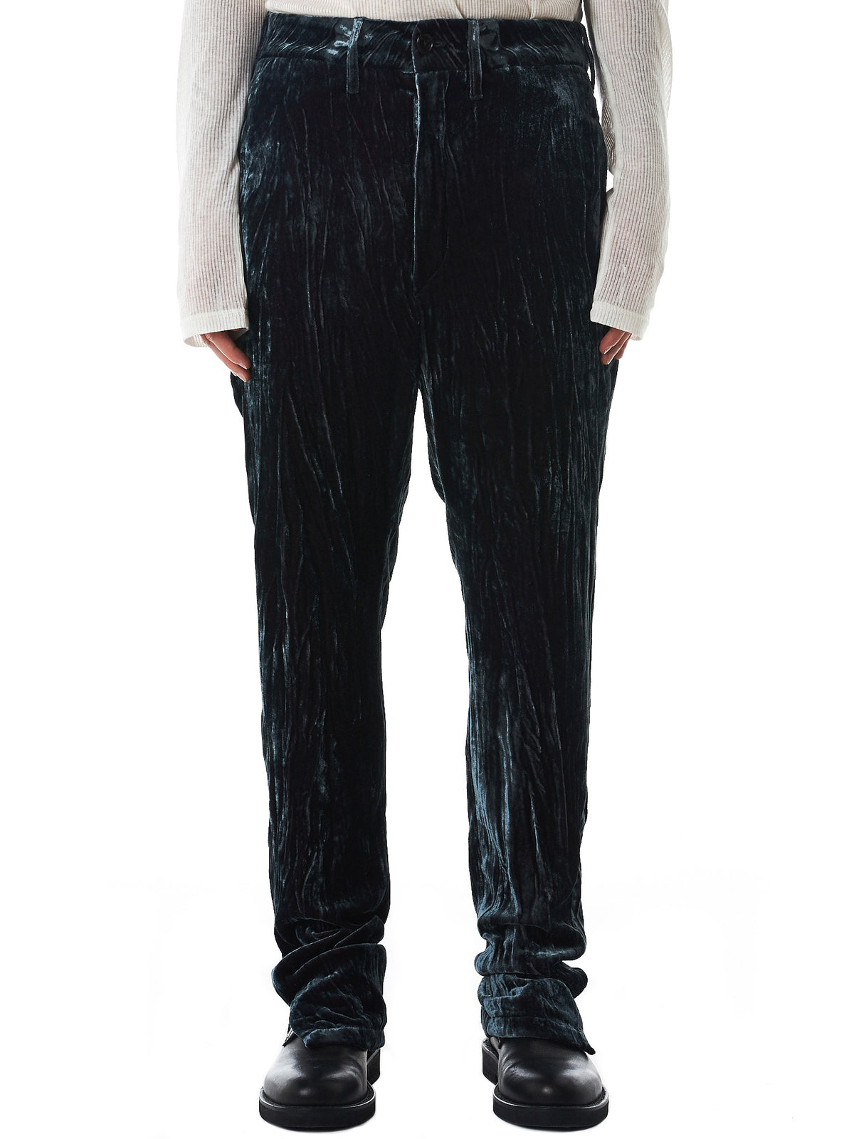 Chromatic Velvet Trousers (1702-3412-163-070)
