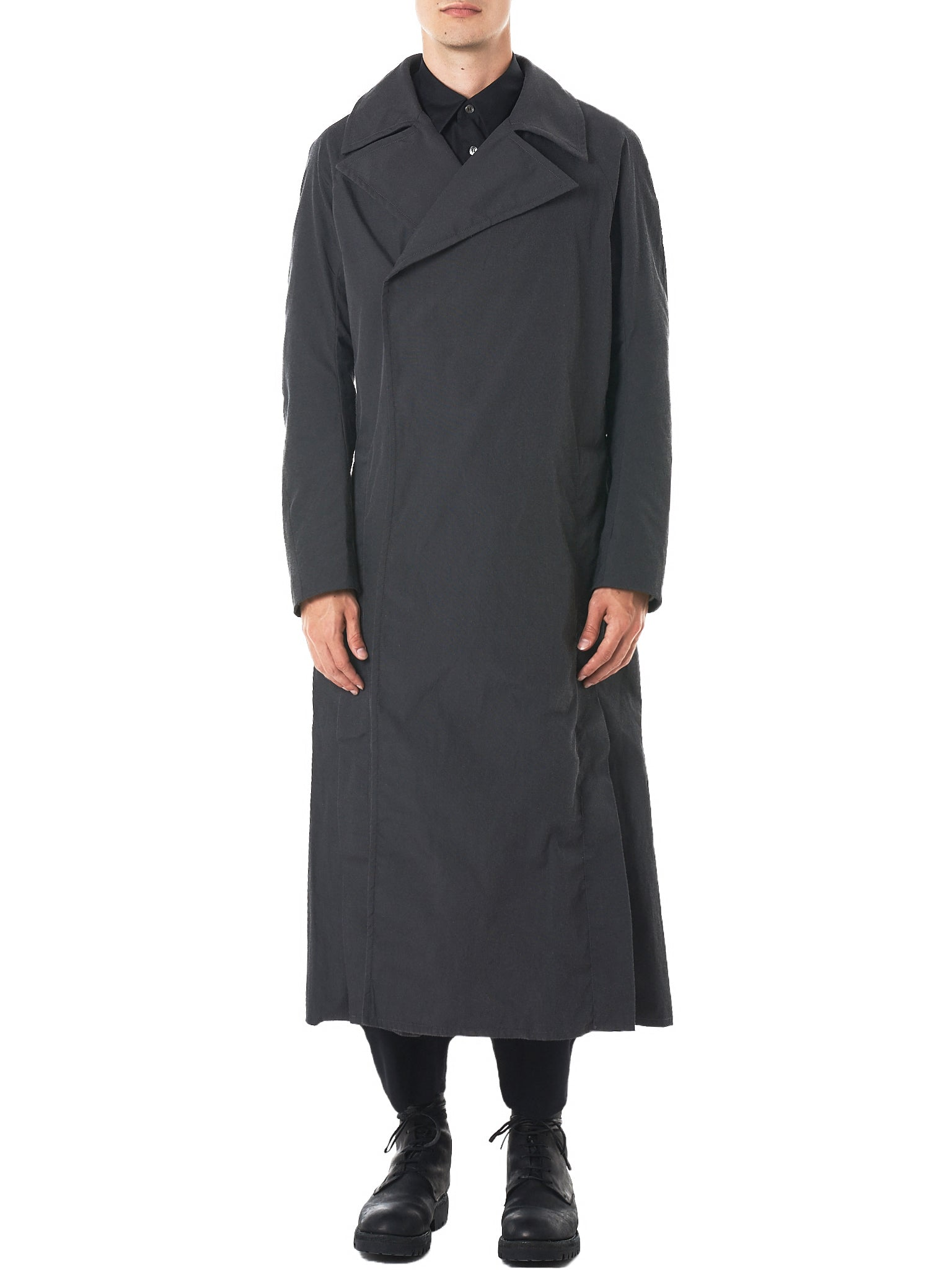 High Vent Trench Coat (1702SK02-DUST)