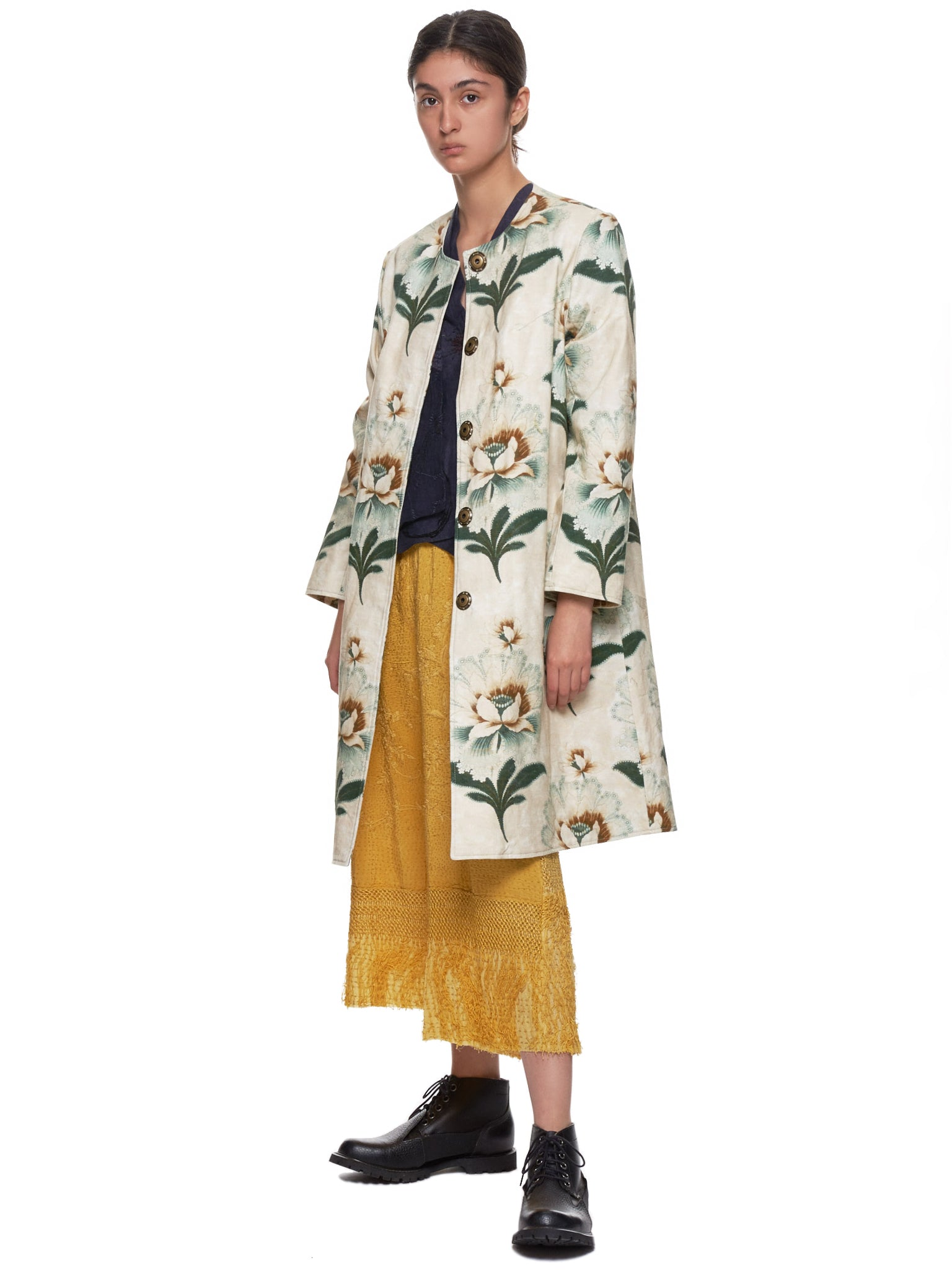 Tanita Coat (170455W-TANITA-LOTUS-FLOWER)