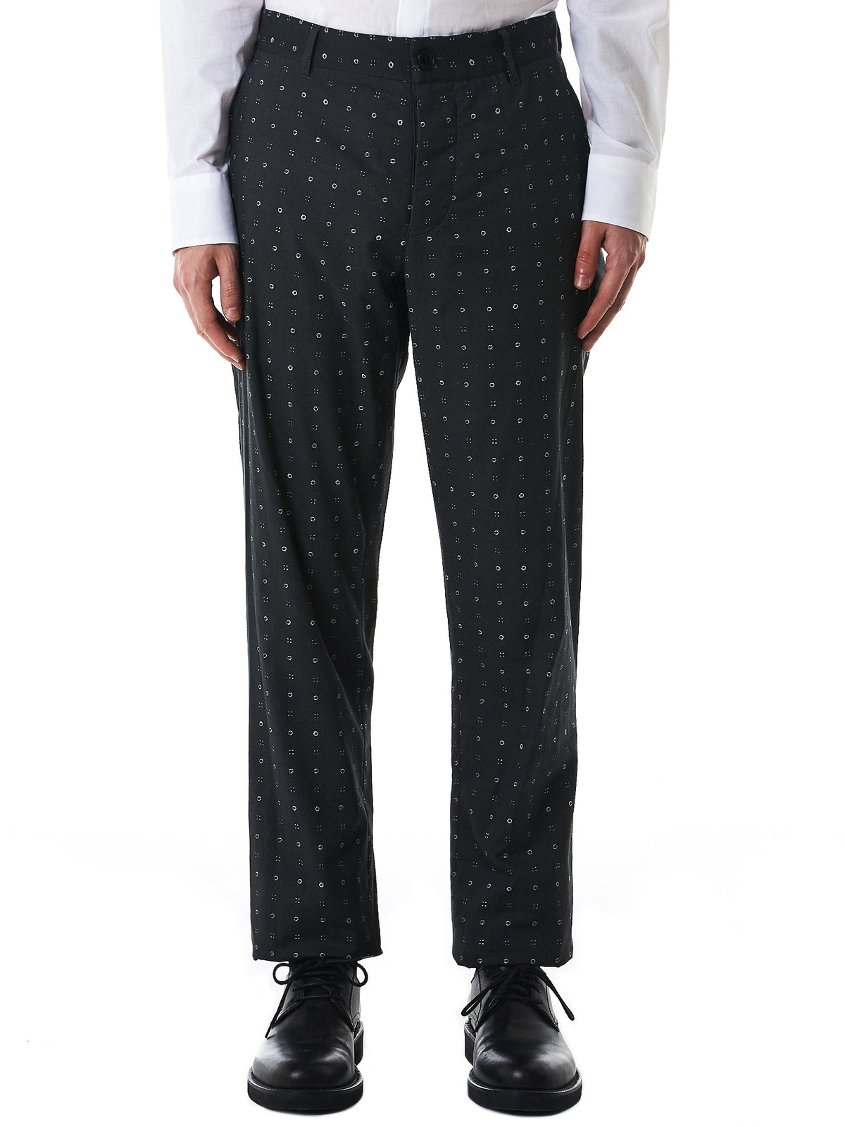 Graphic Printed Trousers (1708-3407-121-099)