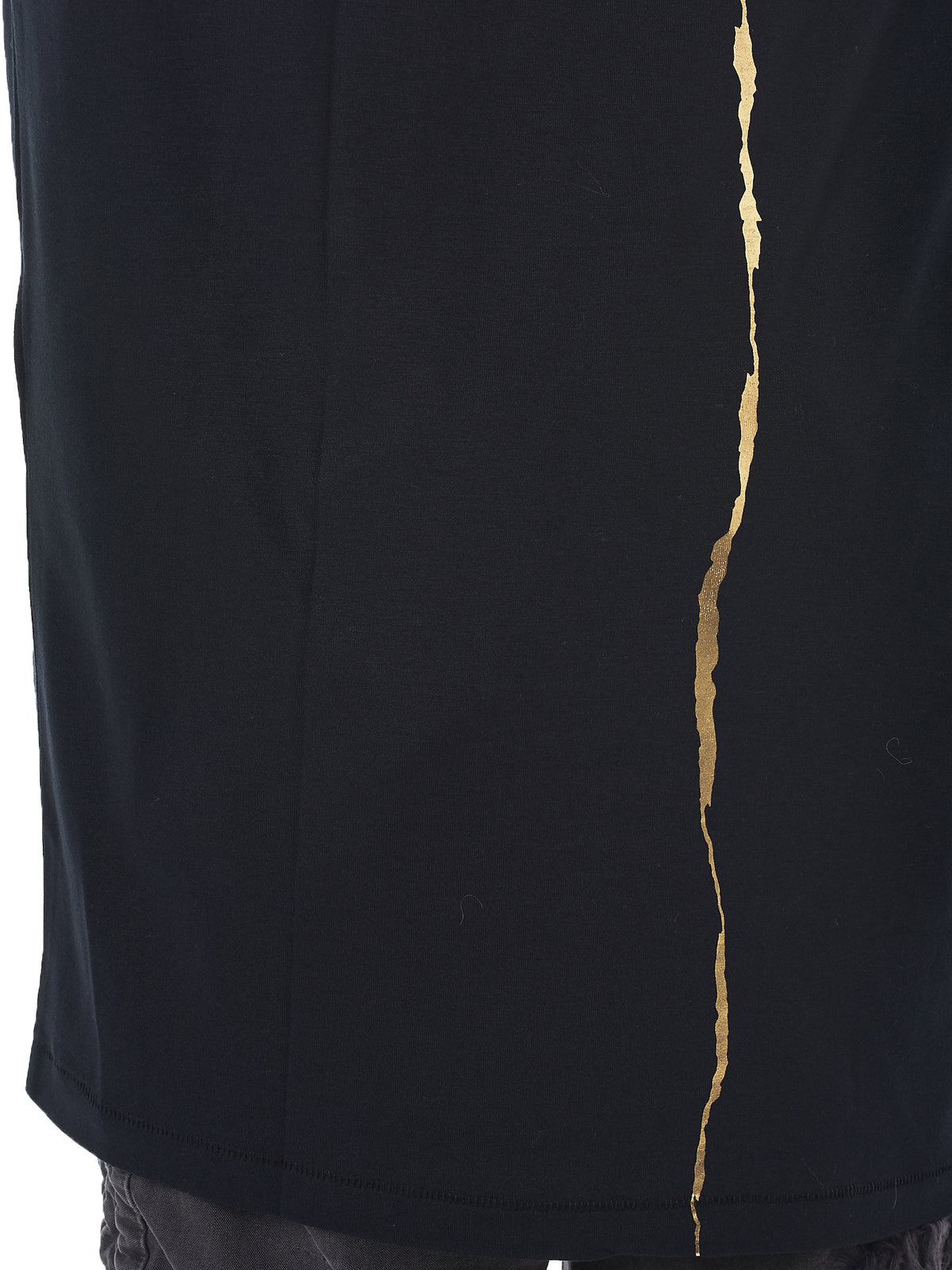Gold Paint Long-Sleeve Tee (174-2406-229-099)