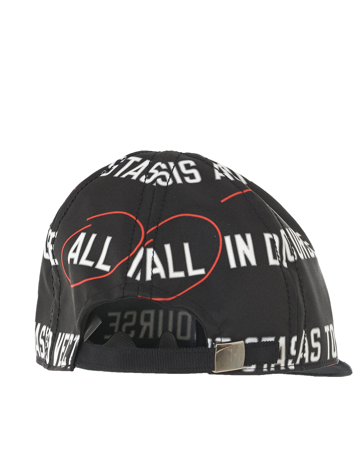 'Stasis As To Vector' Cap (18-03579-BLACK)