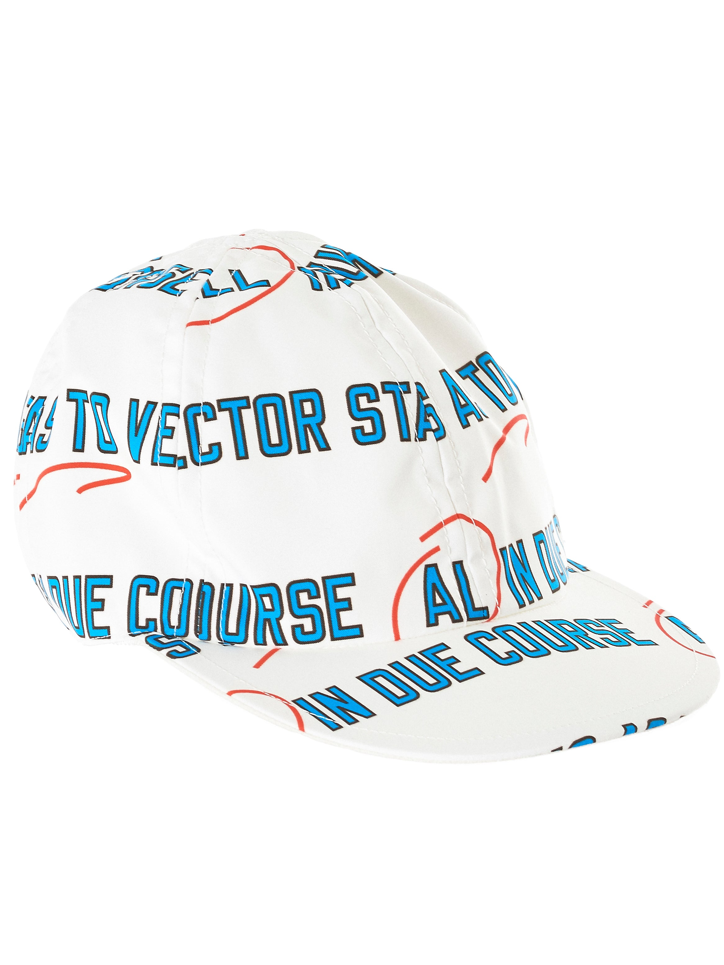 'Stasis As To Vector' Cap (18-03579-OFF-WHITE)