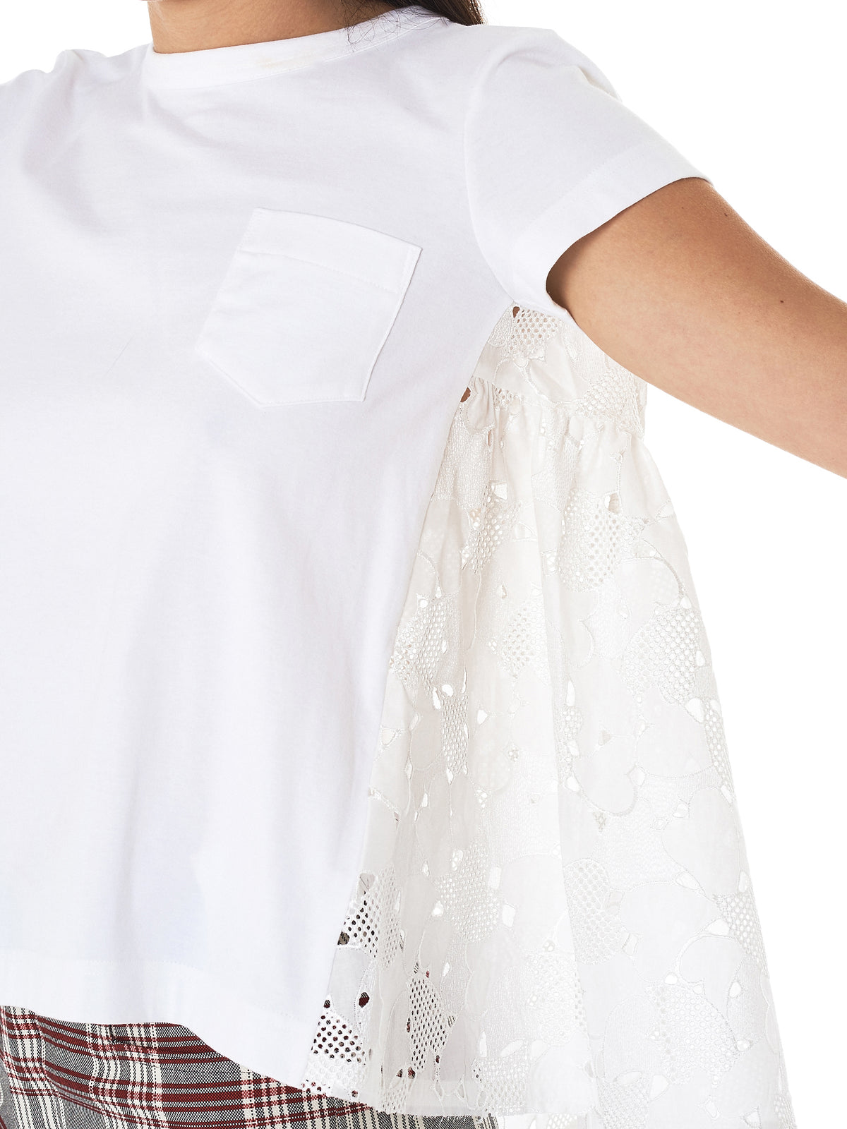 Heart Embroidery Tee (18-03680-WHITE)