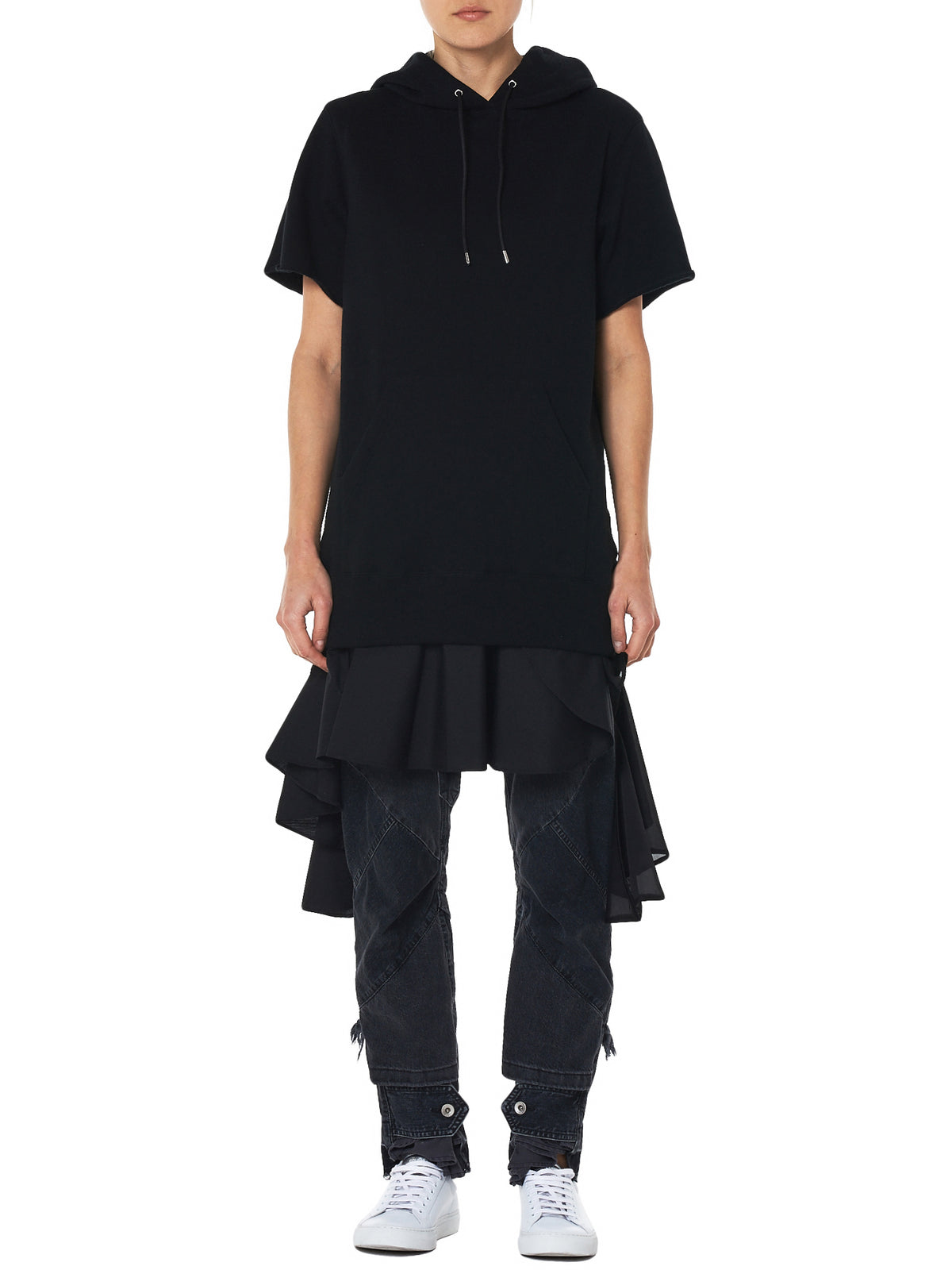 Sacai Pullover Dress - Hlorenzo Front