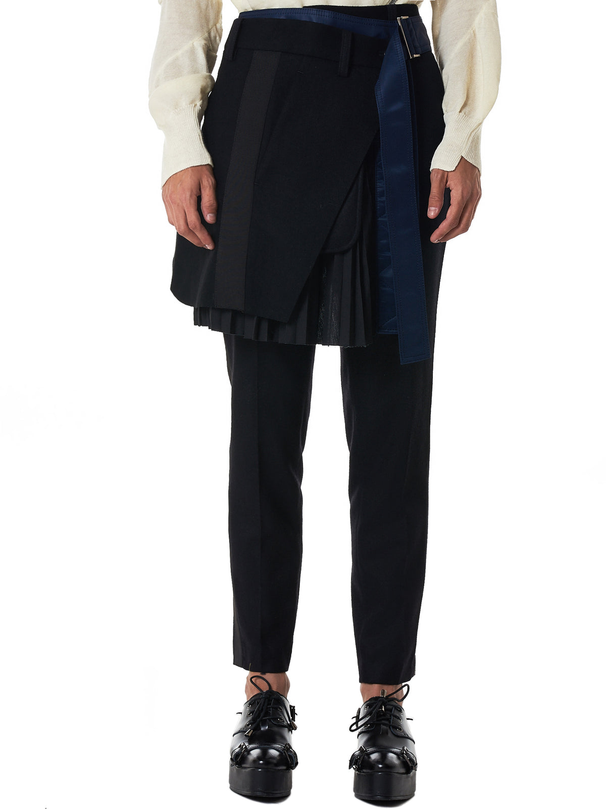 a6d0178c80b5 Sacai Skirt Trousers - Hlorenzo Front ...