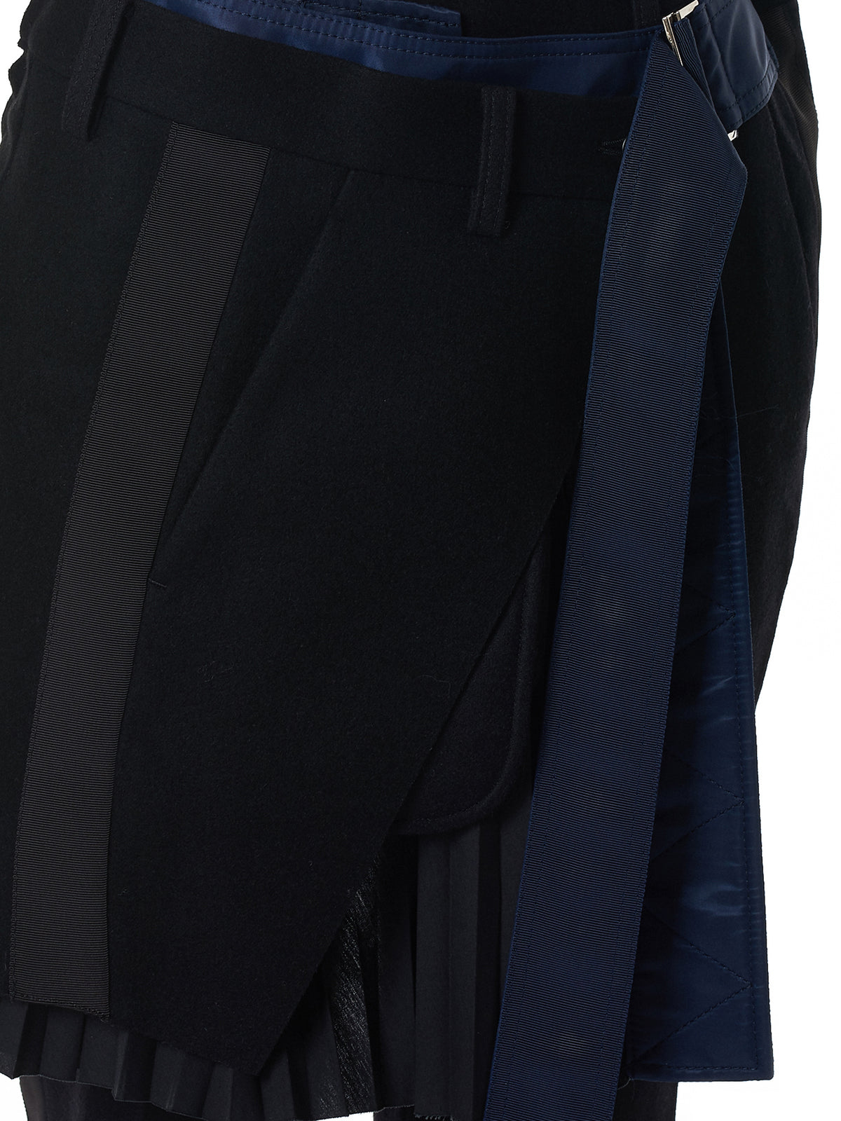 Sacai Skirt Trousers - Hlorenzo Detail 2
