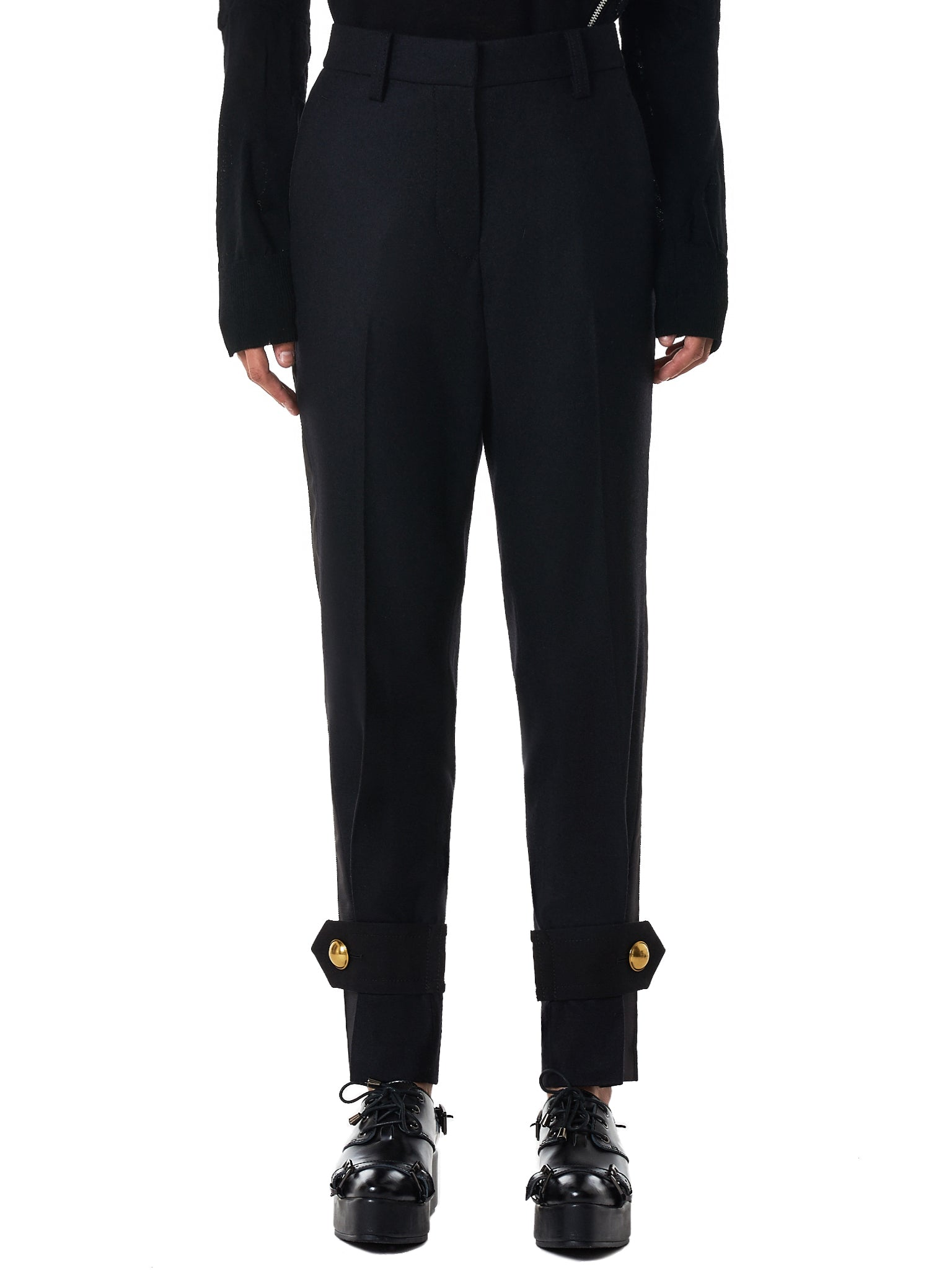 Sacai Trousers - Hlorenzo Front