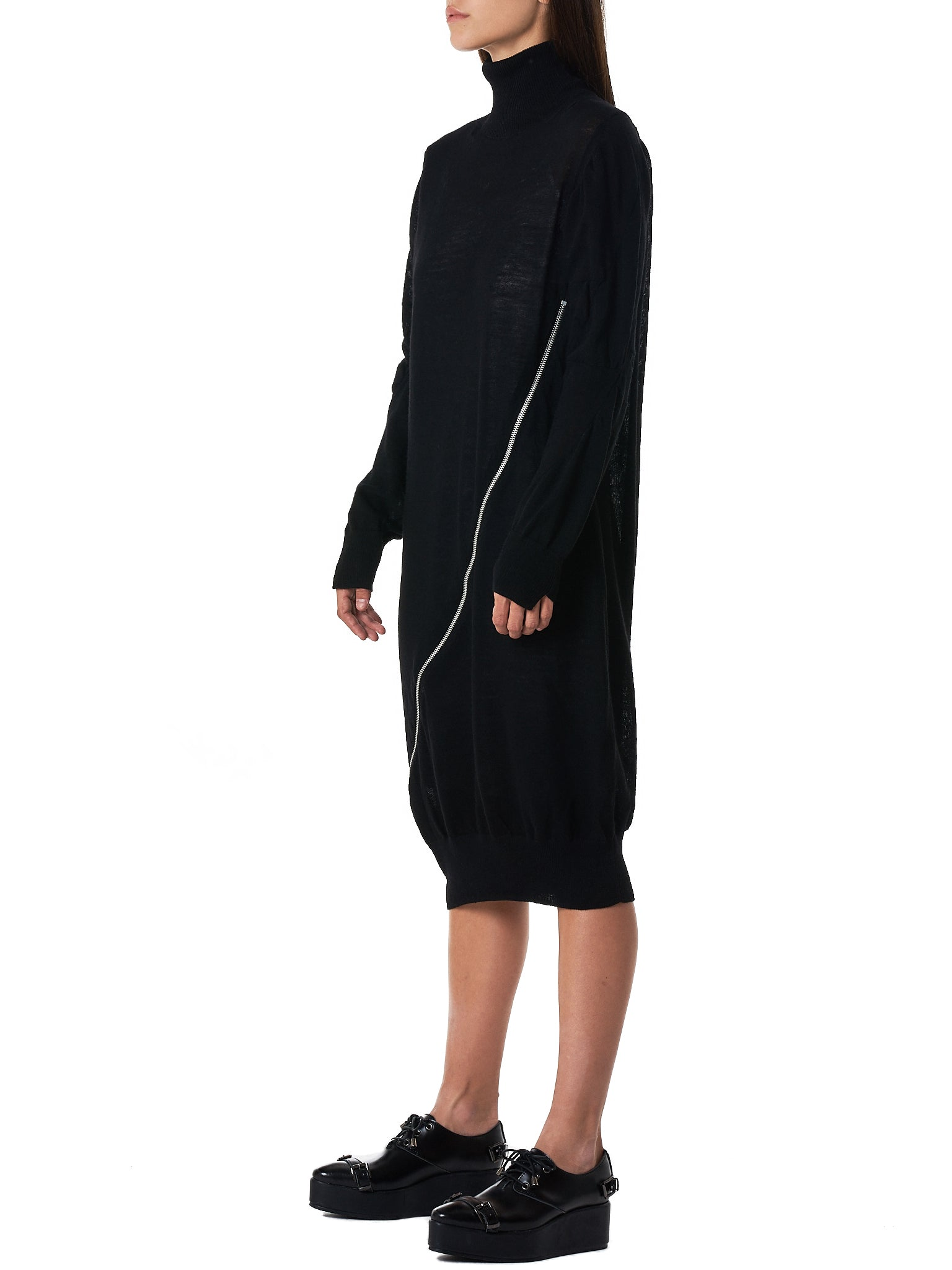 Sacai Turtleneck Dress - Hlorenzo Side
