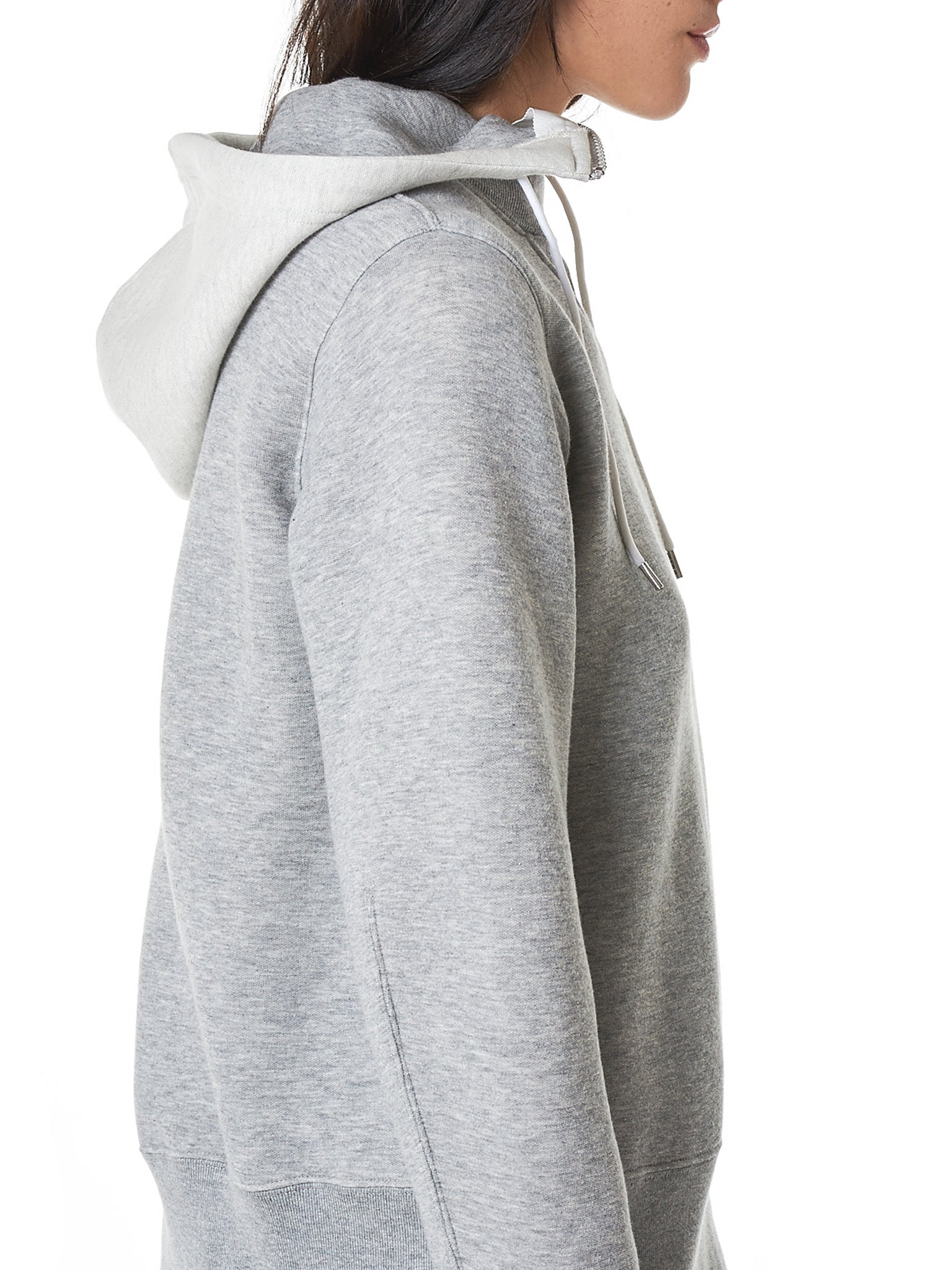 Spliced Pullover Panel Jacket (18-214185-LIGHT-GRAY)
