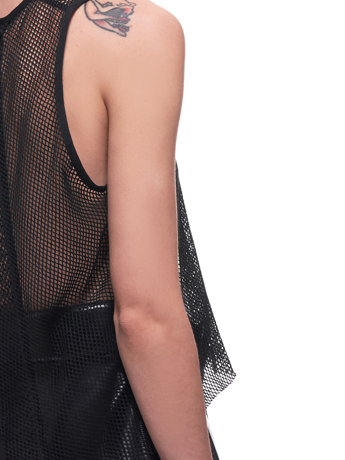 A-Line Mesh Top (18-A-LINE-BLACK-BOUNCY-MESH)